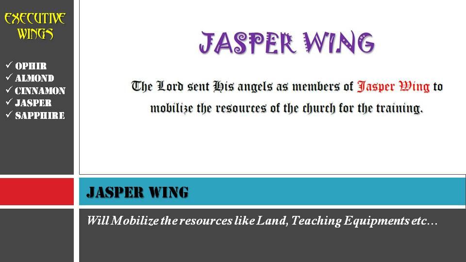 JASPER WING