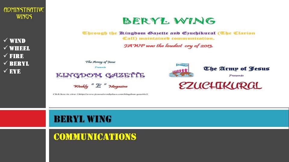BERYL WING